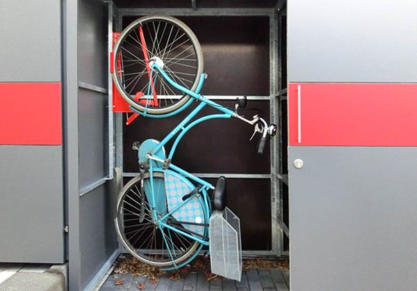 GarDomo - BIKEBOX - Design Fahrradgarage