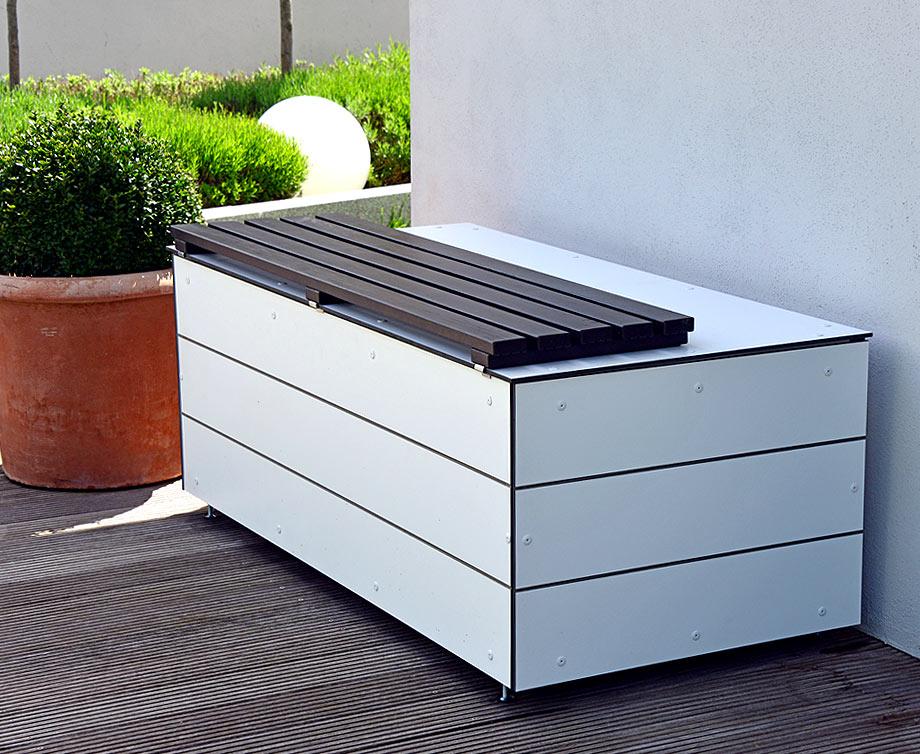 GarDomo - KISSENBOX - Design Gartenbox