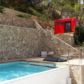 CUBE - Design Gartenhaus am Mittelmeer in Andratx