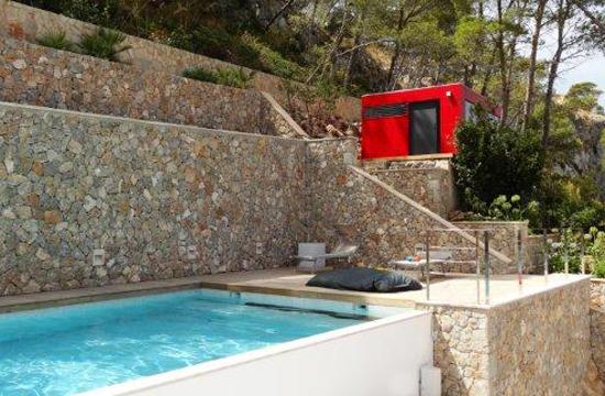 CUBE – Design Gartenhaus am Mittelmeer in Andratx