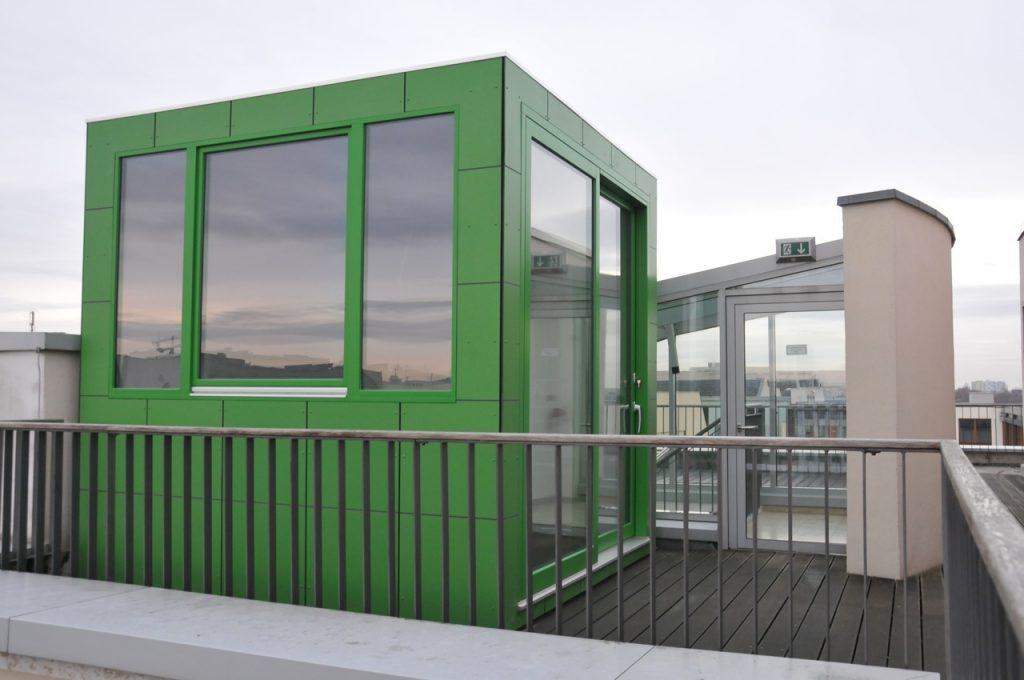 CUBE – Design Gartenhaus verbindet modernes Arbeiten und Berlin