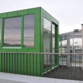 CUBE - Design Gartenhaus verbindet modernes Arbeiten und Berlin