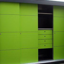 Knalliger KABINETT - Design Gartenschrank in Berlin