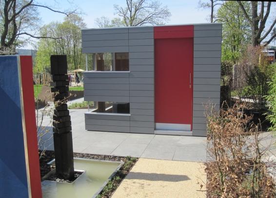 CUBE – Design Gartenhaus auf dem Messegelände in Bad Nauheim