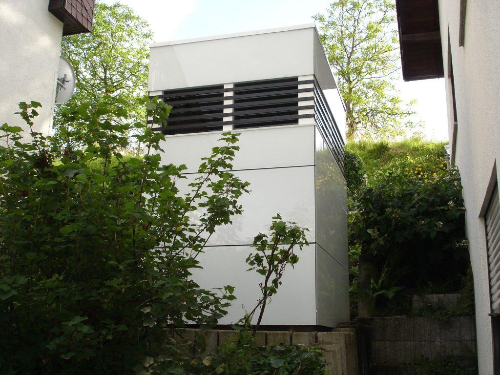 CUBE – Design Gartenhaus in Mini-Sonderanfertigung in Bensheim