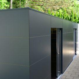 XL CUBE - Design Gartenhaus mit zwei Schiebetüren in Berching