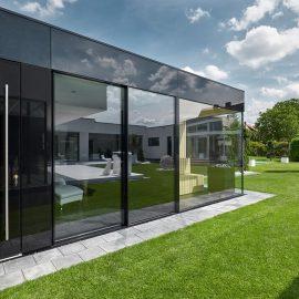 CUBE - Design Gartenhaus wird in Albertshofen zur exklusiven Wellness-Oase