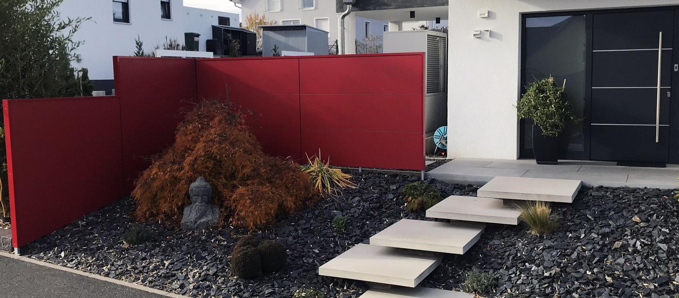 Blickfang Design Sichtschutz Gardomo Garten Design Inspiration