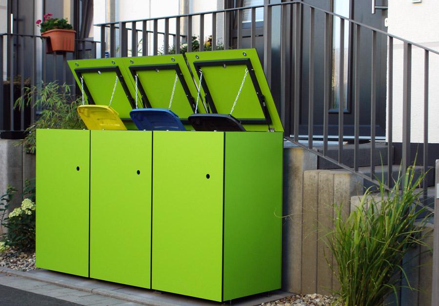 GarDomo - MÜTO - Design Mülltonnenbox