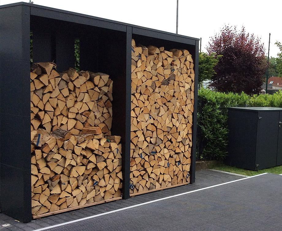 GarDomo - HOCHSTAPLER - Individuelle Holzlege