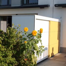 KABINETT - Design Gartenschränke verbinden Nachbarn in Köln