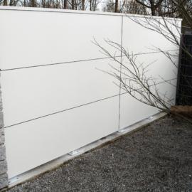 Weiße BLICKFANG - Design Sichtschutzelemente in Speyer