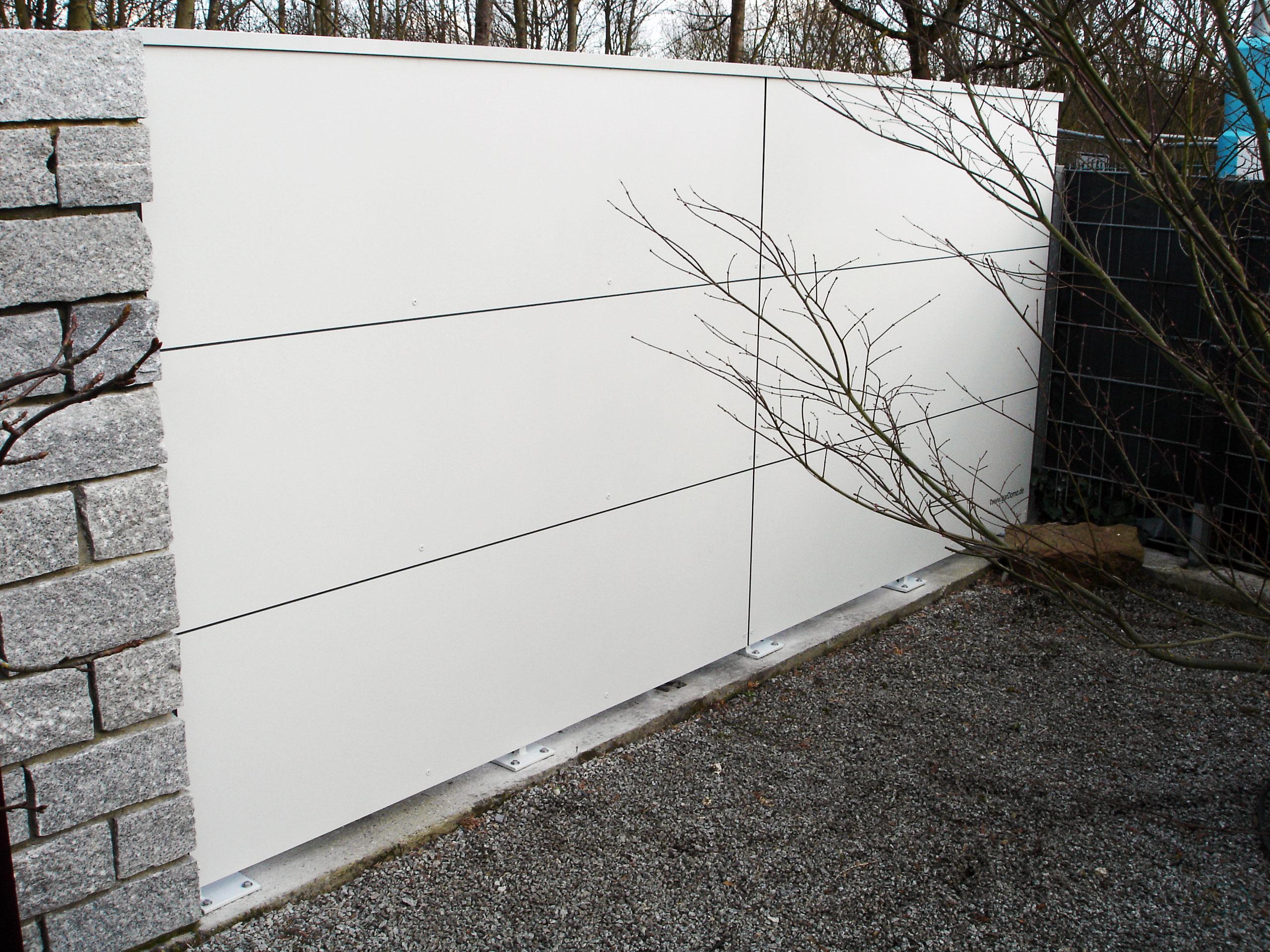 Weiße BLICKFANG – Design Sichtschutzelemente in Speyer