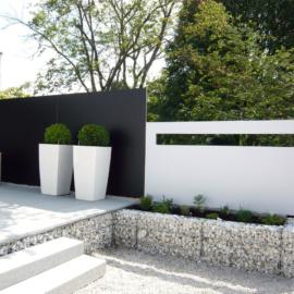 BLICKFANG - Design Sichtschutz perfektioniert stilvolle Garten Lounge in Dittelbrunn