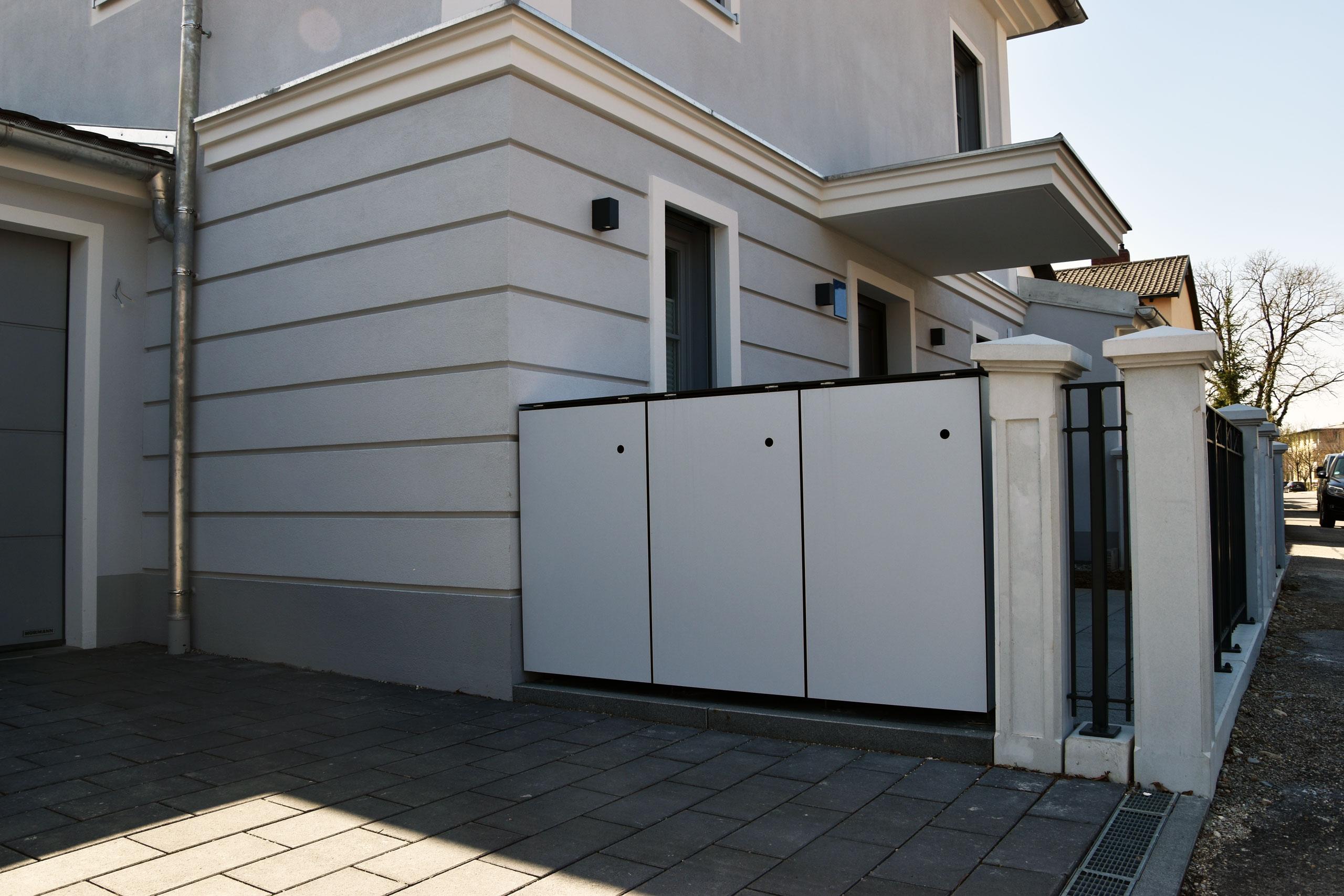 MÜTO – Design Mülltonnenbox in Pasing-Obermenzing München