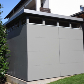Aus alt mach neu! CUBE - Design Gartenhaus in Lohr am Main