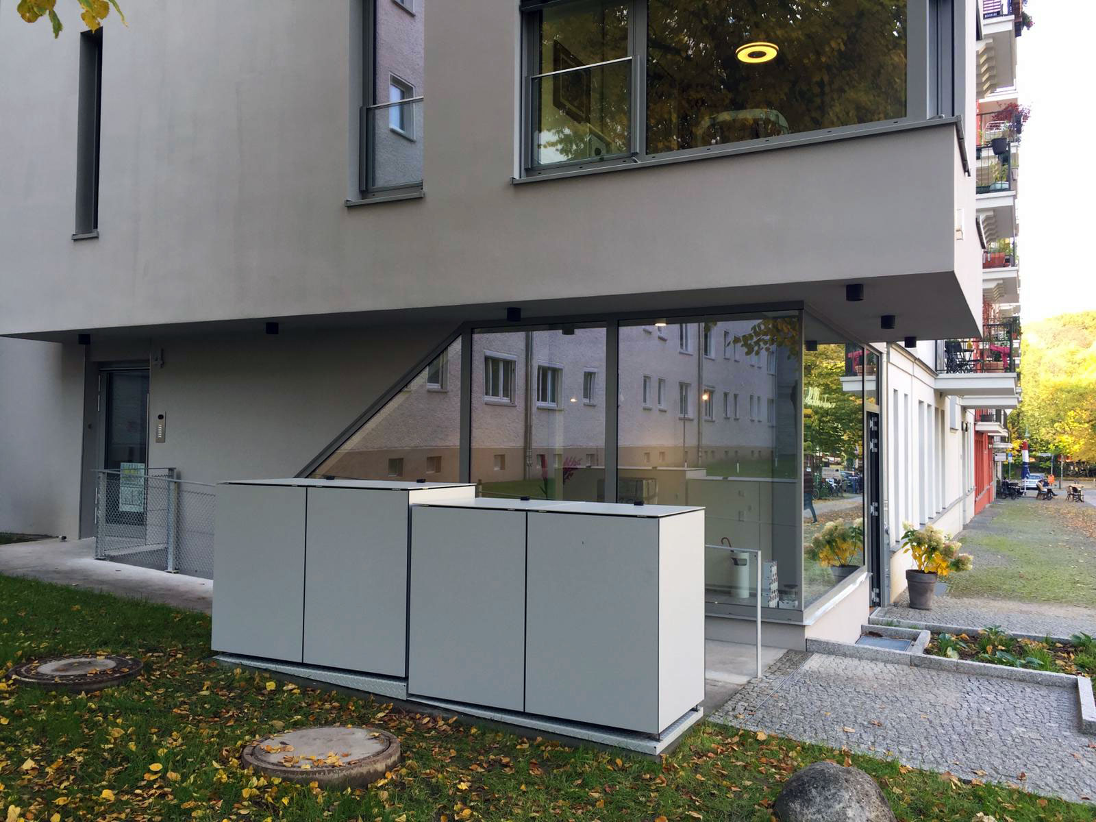 GarDomo MÜTO Design-Mülltonnenbox 20201107-00003