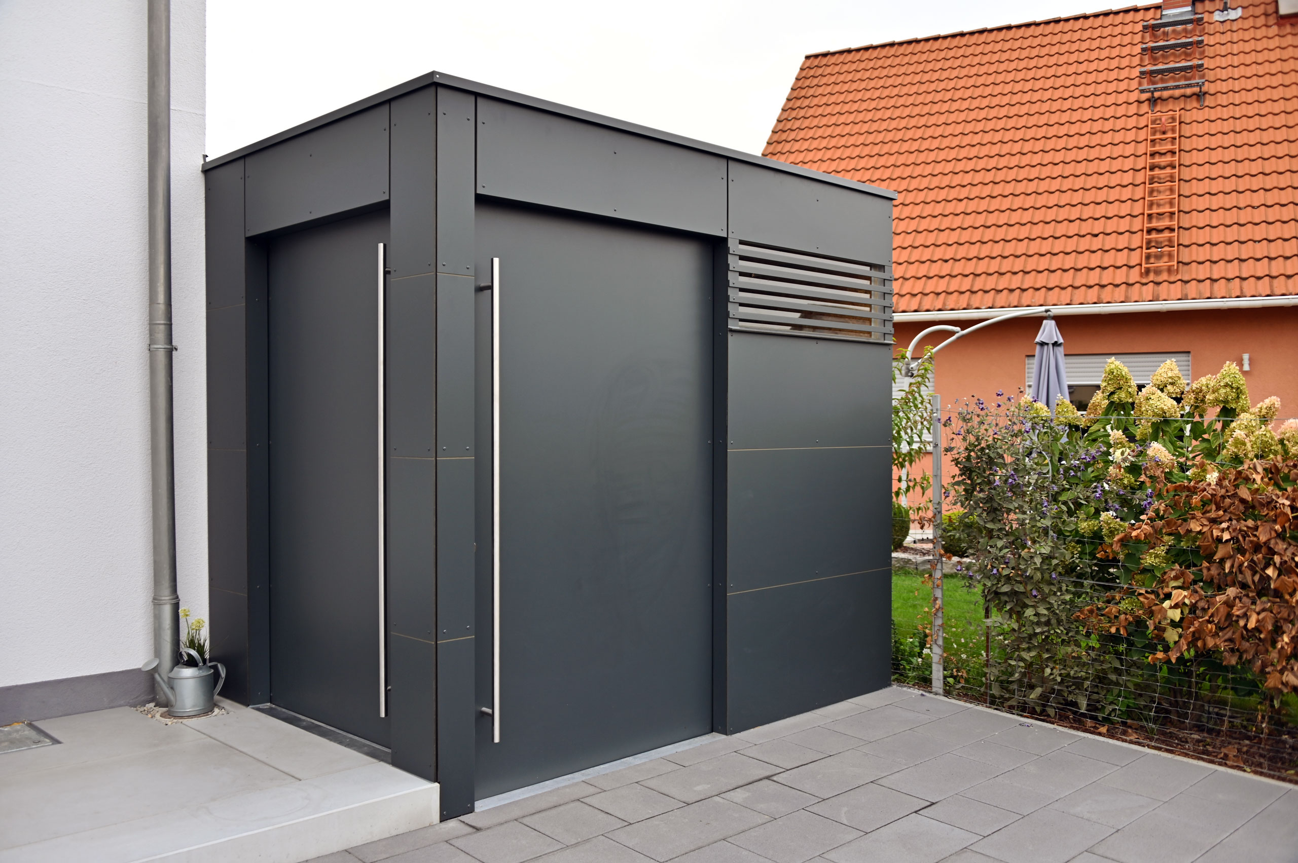 Ref 97222 Rimpar GarDomo CUBE Design Gartenhaus 0004