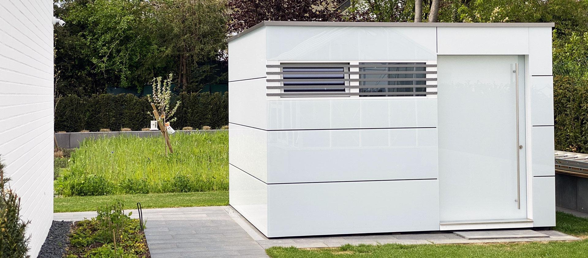 GarDomo CUBE Design Gartenhaus Slider 20210511-01