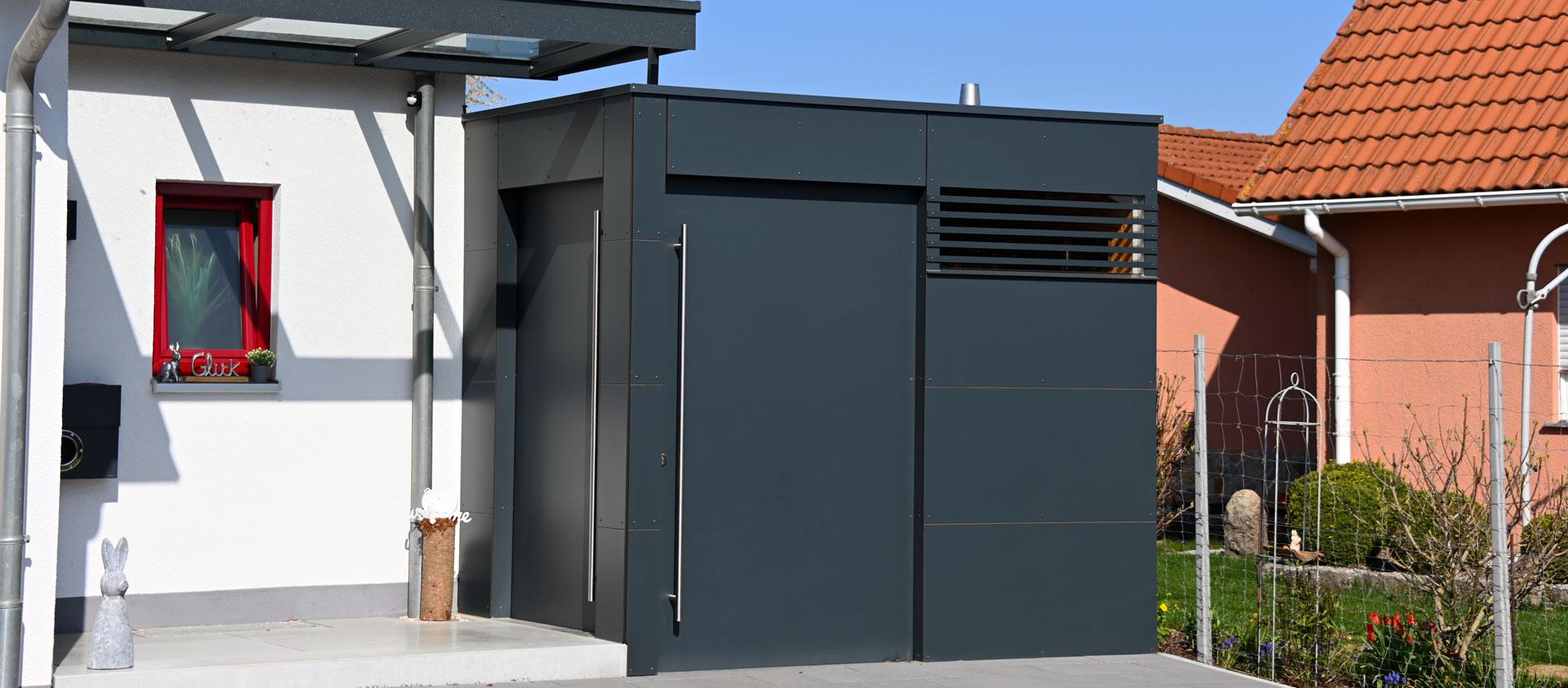 GarDomo CUBE Design Gartenhaus Slider 20210511-02