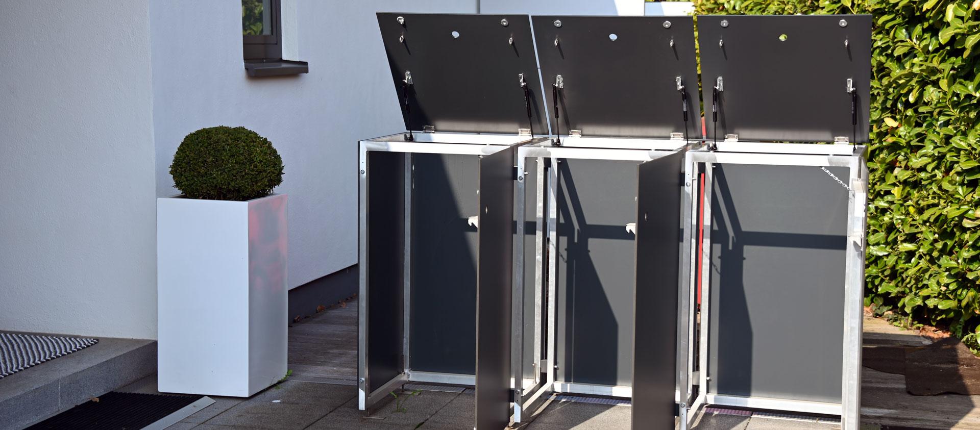 GarDomo MÜTO Design Mülltonnenbox Slider 20210511-01