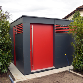 Referenz 63110 Rodgau GarDomo CUBE Design Gartenhaus 0001