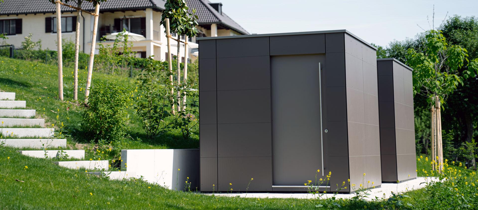 GarDomo CUBE Design Gartenhaus Slider 20210722-01