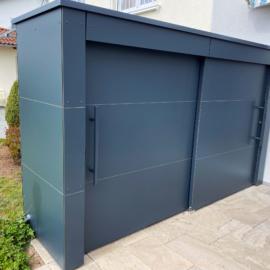 Referenz 74081 Heilbronn GarDomo KABINETT Design Gartenschrank 0001