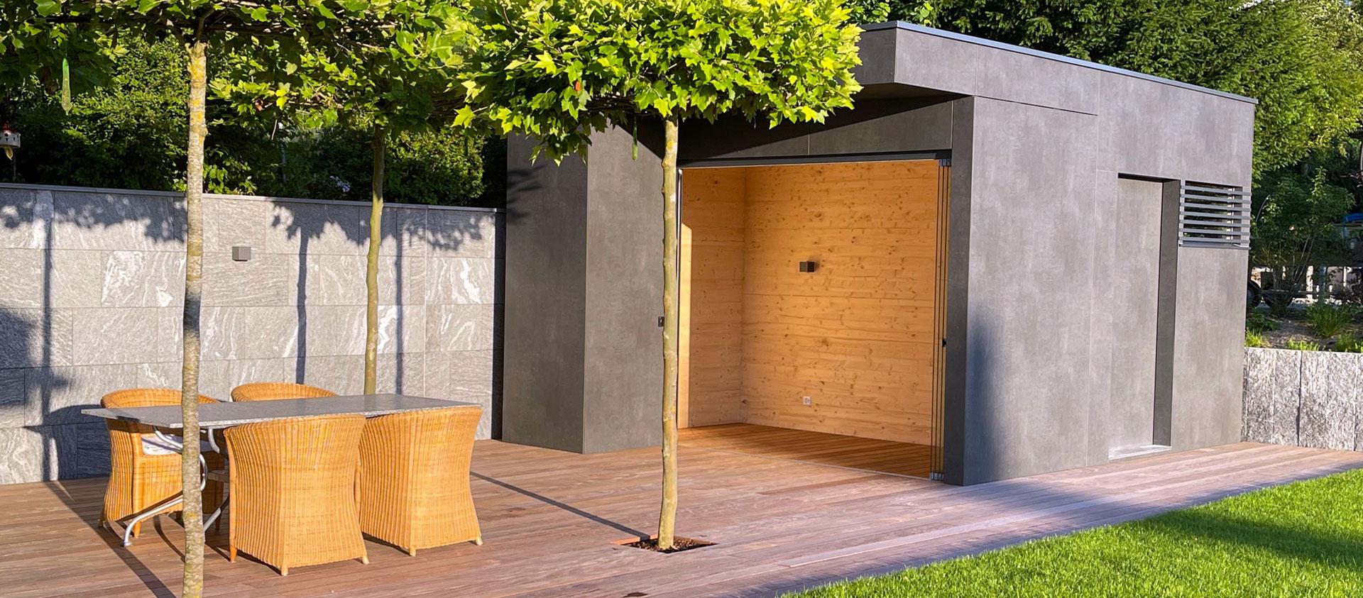 GarDomo   CUBE Design Gartenhaus 20210826-01
