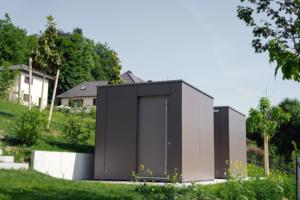 Referenz 82319 Starnberg GarDomo CUBE Design Gartenhaus 0001