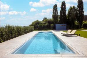 Referenz 61194 Niddatal   GarDomo   CUBE Design Poolhaus 0001